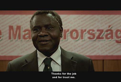 """Ator nascido na Guiné-Bissau protagoniza filme húngaro """"O cidadão"""""""