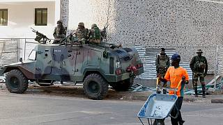 ECOWAS troops secure presidential palace in The Gambia