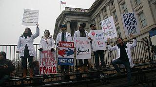 گزارش تصویری؛ در راهپیمایی بزرگ زنان در واشنگتن چه گذشت؟