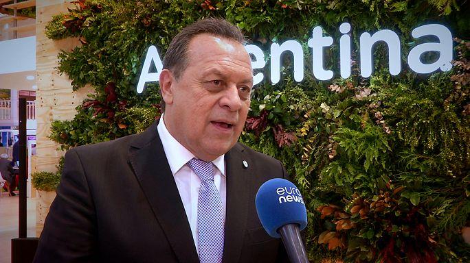 """Gustavo Santos, ministro de Turismo: """"Argentina será el destino más amable del mundo"""""""