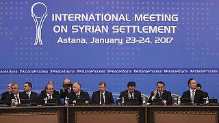 Rebeldes y autoridades sirias se reúnen en Astaná
