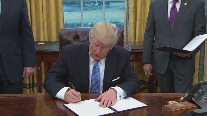 Donald Trump annulla il TPP