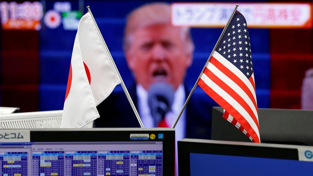 إغلاق أحمر للأسواق الأوروبية بسبب خطاب تنصيب ترامب
