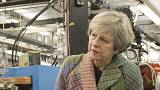 Britain's Theresa May tight lipped over Trident missile test