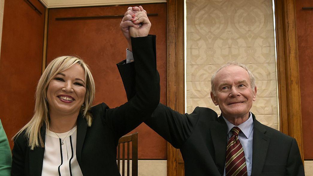 Michelle O'Neill ist neue Sinn Fein-Vorsitzende in Belfast