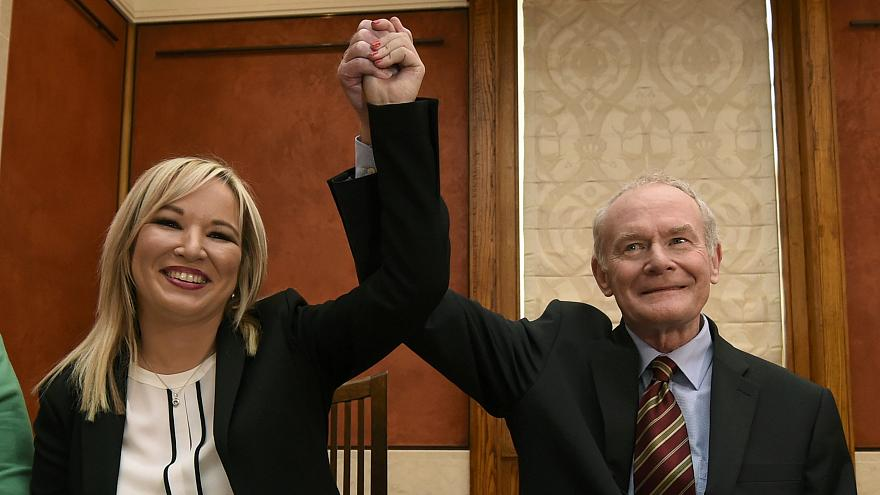 Irlande du Nord : Michelle O'Neill prend la tête du Sinn Fein