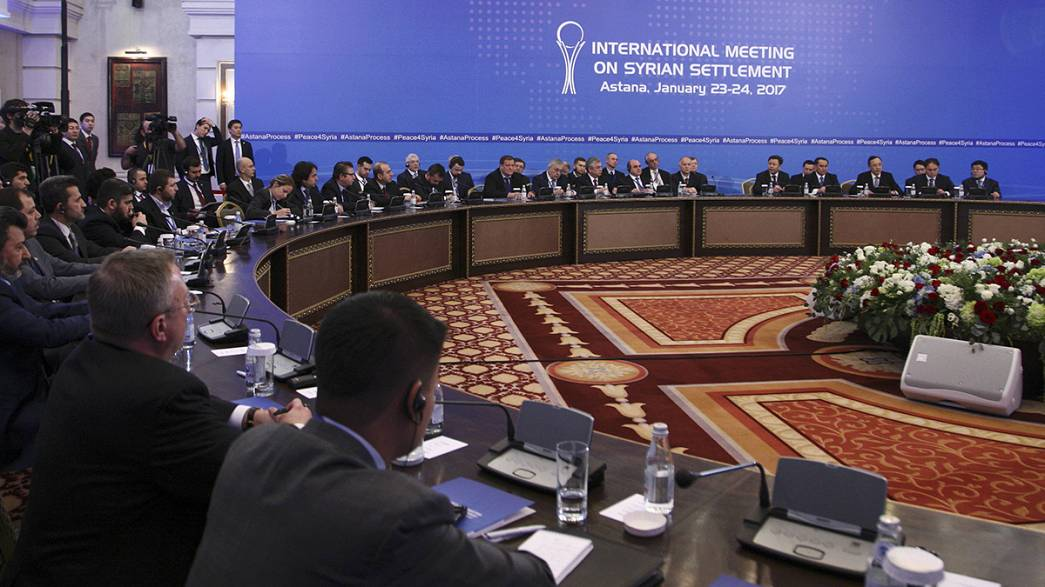 Day two of Syria peace talks and Russia pushes for a truce deal