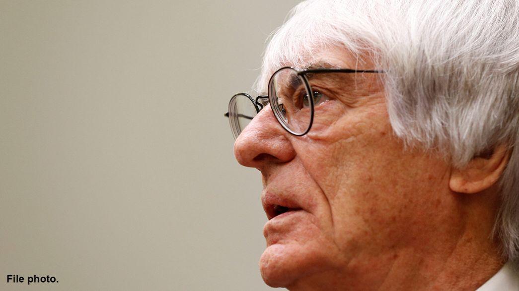 """""""Fui despedido hoje"""", Bernie Ecclestone antigo patrão da Fórmula 1"""