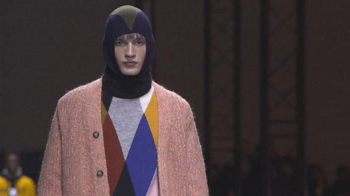 Pariser Modetrends: Schlafsack und Turnschuhe