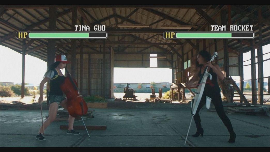 """Tina Guo spielt """"Pokémon"""" auf dem Cello"""