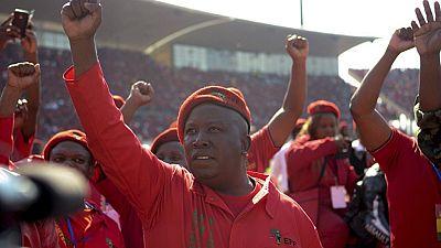 Julius Malema appelle au départ de Robert Mugabe