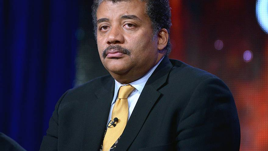 Image: Neil DeGrasse Tyson appears on a panel in Pasadena, California, in 2
