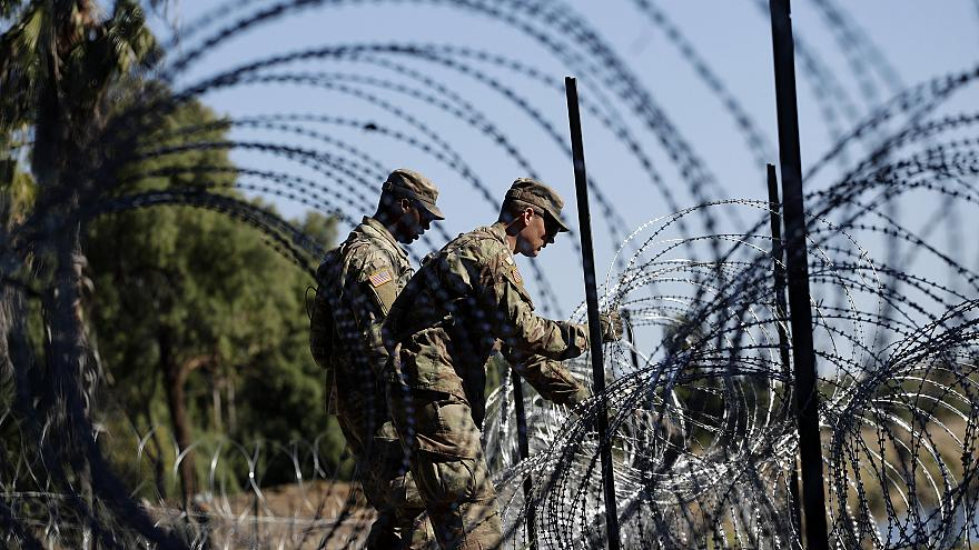 Image: US Army Soldiers, Border