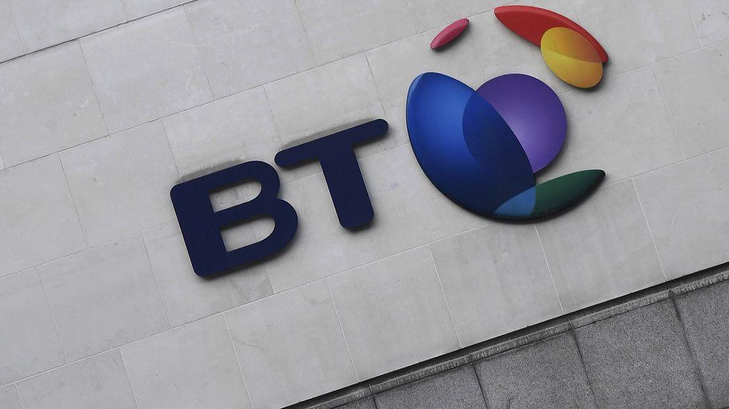 Bajban a brit BT az olasz csalás után
