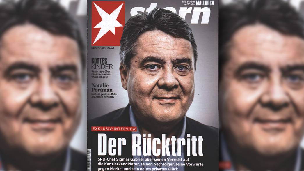 Gabriel verzichtet auf Kanzlerkandidatur - Schulz soll gegen Merkel antreten