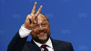 Martin Schulz, favori du SPD pour défier Angela Merkel