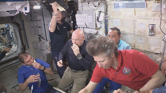 Fine food menus on the International Space Station
