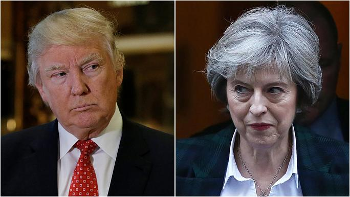 When Theresa meets Donald...