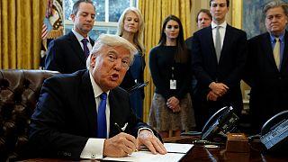 Trump resucita dos polémicos proyectos de oleoductos