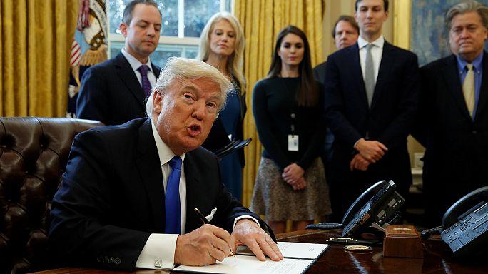 Trump relance la construction de deux oléoducs controversés