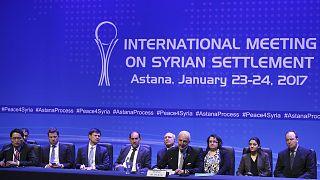 Rússia, Irão e Turquia assinam documento conjunto sobre a Síria