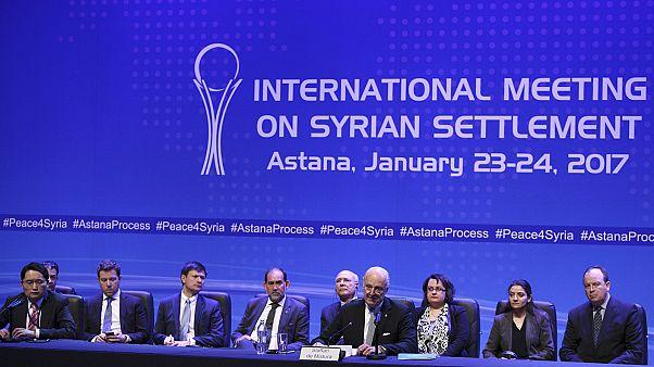 Rusia, Turquía e Irán supervisarán el alto el fuego en Siria