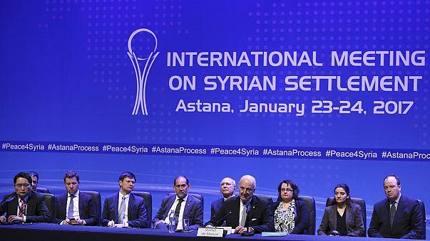 اتفاق ثلاثي لوضع آلية لتطبيق ومراقبة وقف إطلاق النار في سوريا