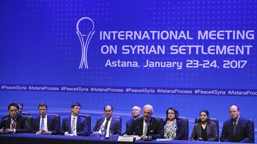 Ende der Syrien-Gespräche in Astana: Hoffnung für stabile Waffenruhe?