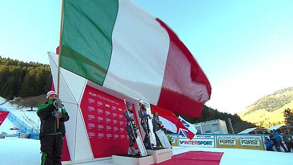 Sci: trionfo azzurro a Plan de Corones, a Federica Brignone lo slalom gigante