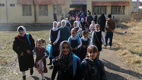 En Irak : les enfants de Mossoul-Est retournent à l'école