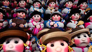 Bolivya'nın renkli minyatür festivali
