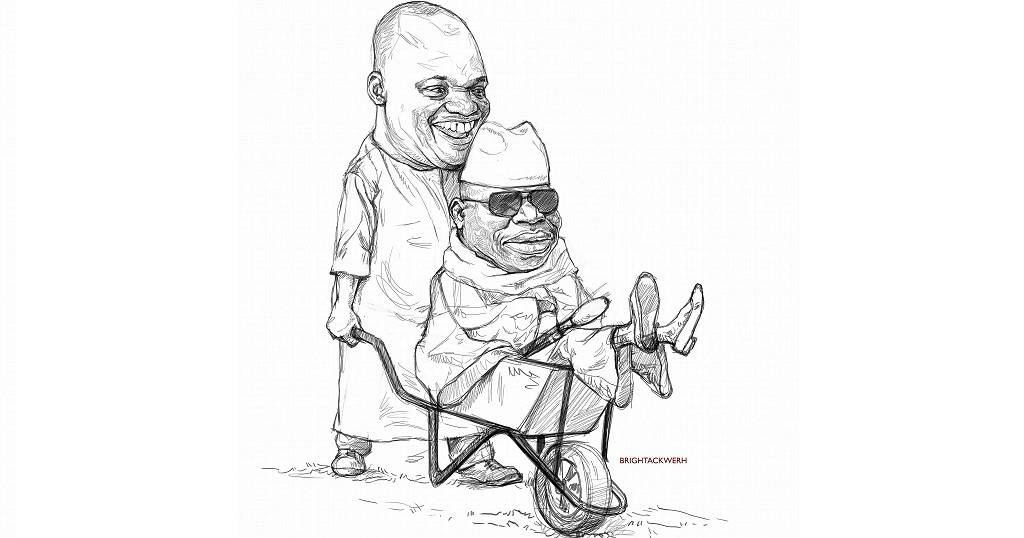 African Cartoonists Lampoon Exiled Jammeh With U0026 39 Barrow