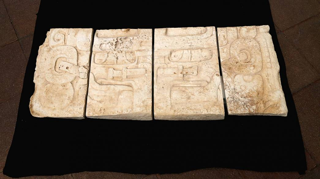 Mayan treasures are returned to Guatemala