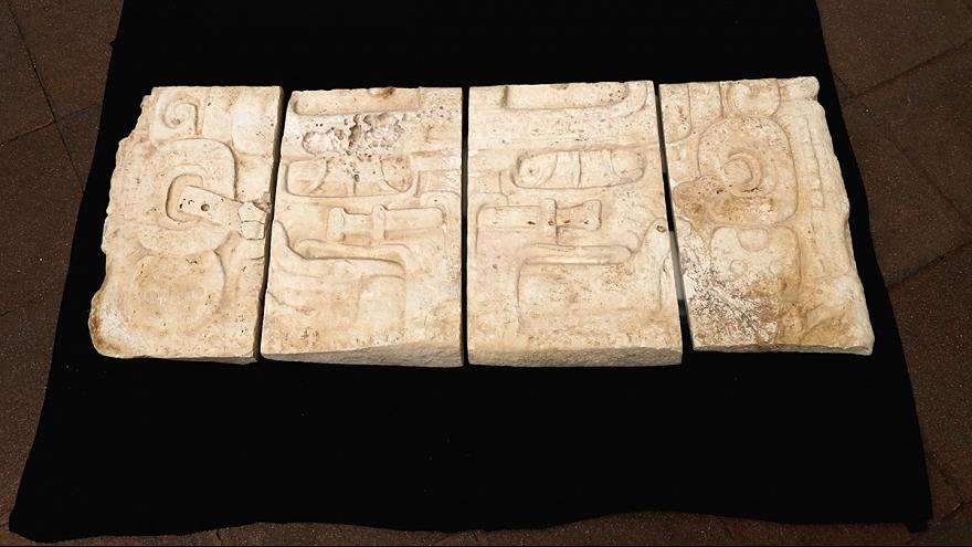 Mayan treasures are returned to Guatemala