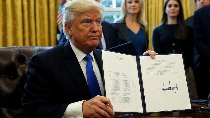 Etats-Unis : Trump relance deux projets d'oléoducs
