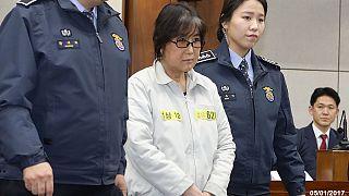 South Korea corruption scandal: president's friend protests innocence