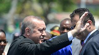 Erdogan rallies fight against Fethullah Gulen in Mozambique