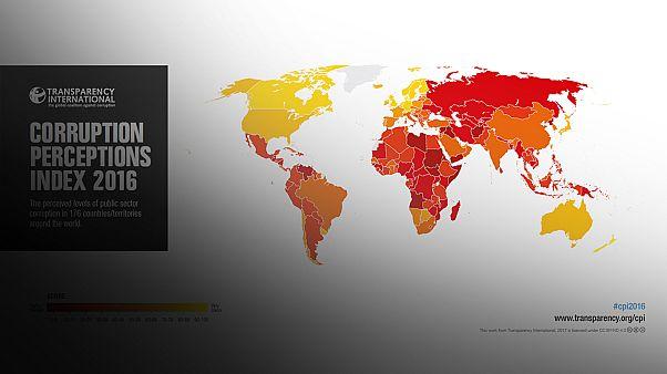 گزارش سازمان شفافیت بین المللی از رشد فساد مالی در جهان