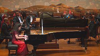 Beatrice Rana hace vibrar la Real Ópera de Mascate