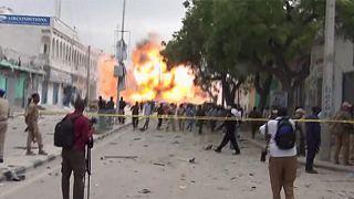 Verwüstung in Mogadischu