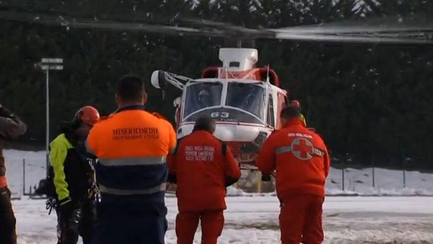 ارتفاع عدد قتلى الانهيار الثلجي في إيطاليا إلى 24