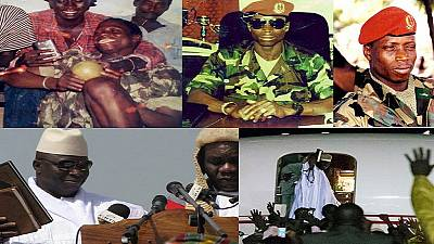 The rise and exile of Gambia's ex-President Yahya Jammeh [Photo Story]