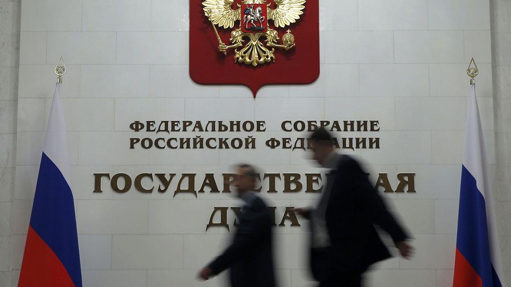 Russian Duma backs draft law easing penalty for domestic violence