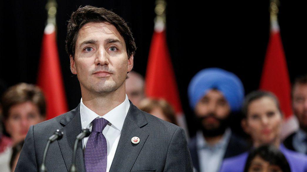 Canada's Trudeau talks trade as Trump rejects TPP and NAFTA