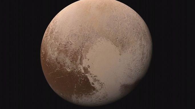 NASA revela imagens de Plutão enviadas pela New Horizon