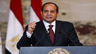 Six years after uprising, Sisi says Egypt 'on right track'