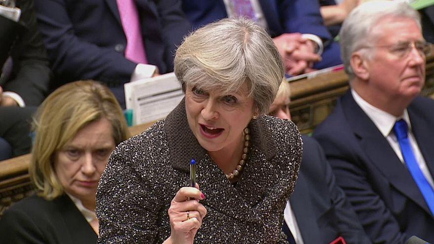 تيريزا ماي تواجه نقاشات حادة في البرلمان البريطاني