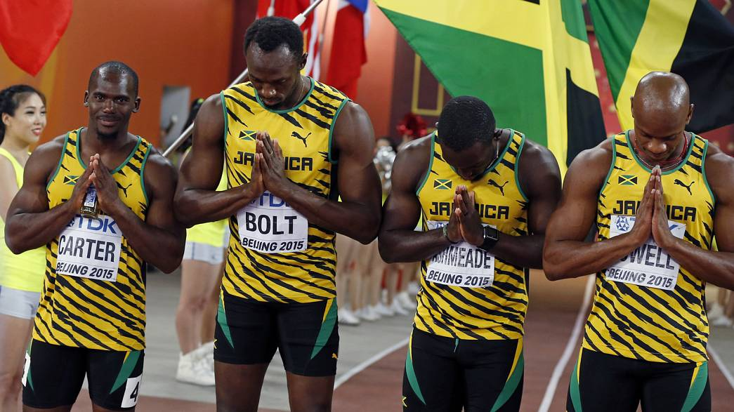 Sprint legend Bolt loses 2008 Olympic relay gold after team mate Carter tests positive