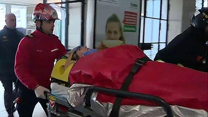 Lisbon ferry crash leaves 34 injured