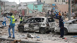 Somalie : au moins 28 morts dans une double explosion près d'un hôtel de Mogadiscio